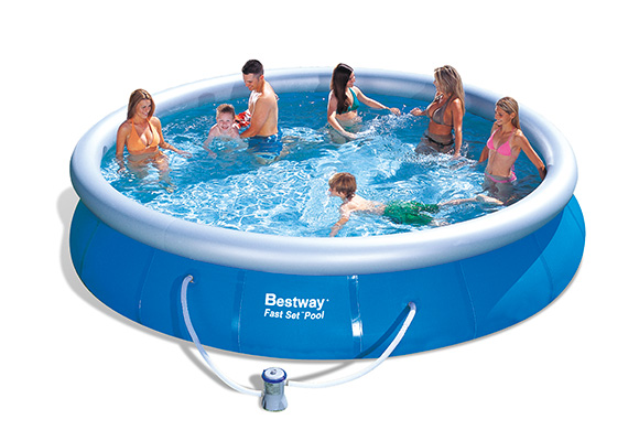 Piscine gonflable ronde Intex