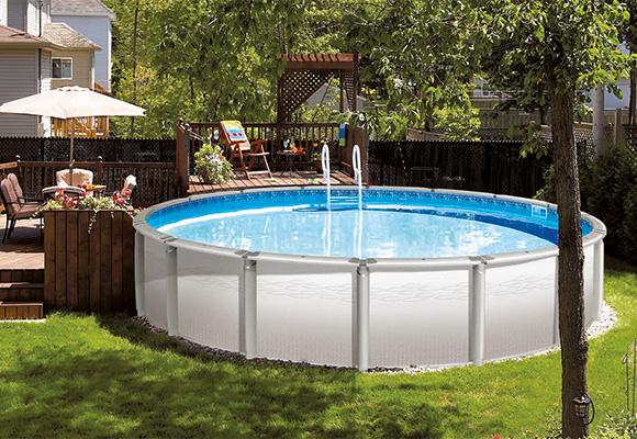 piscine hors sol m tal acier une piscine solide