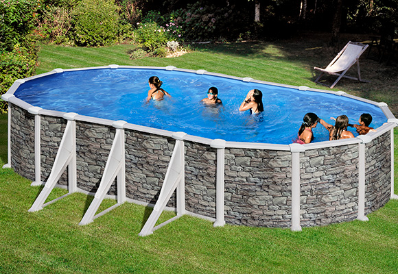 Vente piscine hors sol piscine hors sol bois rectangle for Piscine en teck hors sol