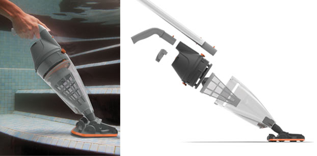 Nettoyeur vektro pro hydro sud for Aspirateur piscine vektro pro