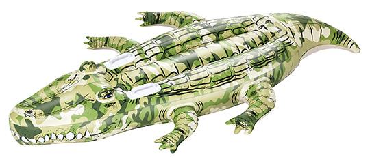 Crocodile camouflage gonflable bestway hydro sud for Attaque de crocodile dans une piscine