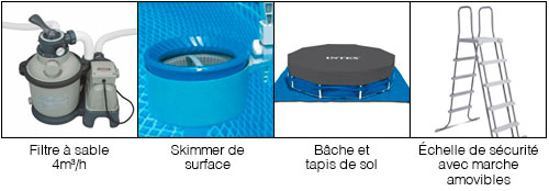 Accessoires piscine tubulaire intex for Piscines hydrosud fr