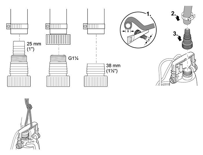 pompe de relevage promax cleardrain 7000 oase. Black Bedroom Furniture Sets. Home Design Ideas