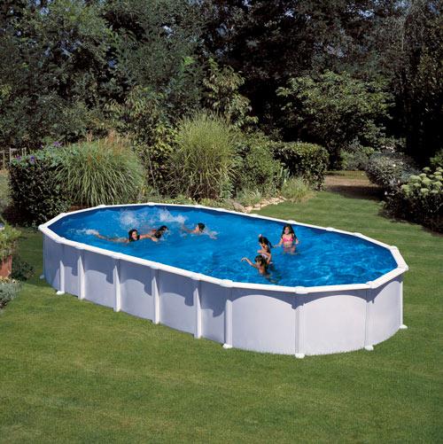 piscine hors sol ha ti 9 15 x 4 70 m h 1 32 m gre