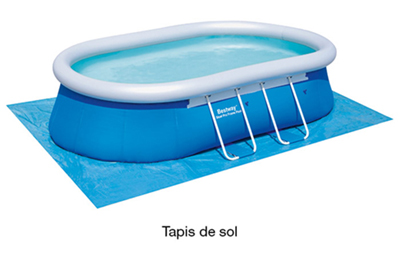 Piscine hors sol fast set pools ovale 5 49 x 3 66 m h 1 for Chlore piscine composition